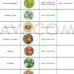Caps vegetable design